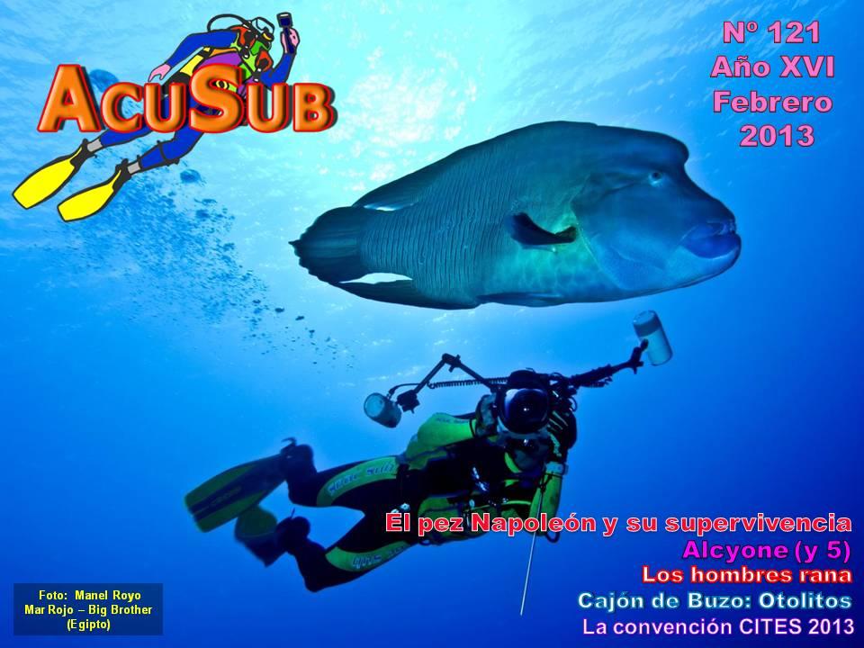 Acusub revista de buceo nº 121