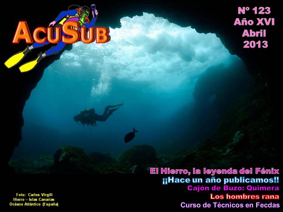 Acusub revista de buceo nº 123