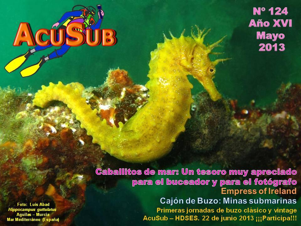 Acusub revista de buceo nº 124