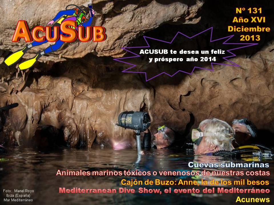 Acusub revista de buceo nº 131