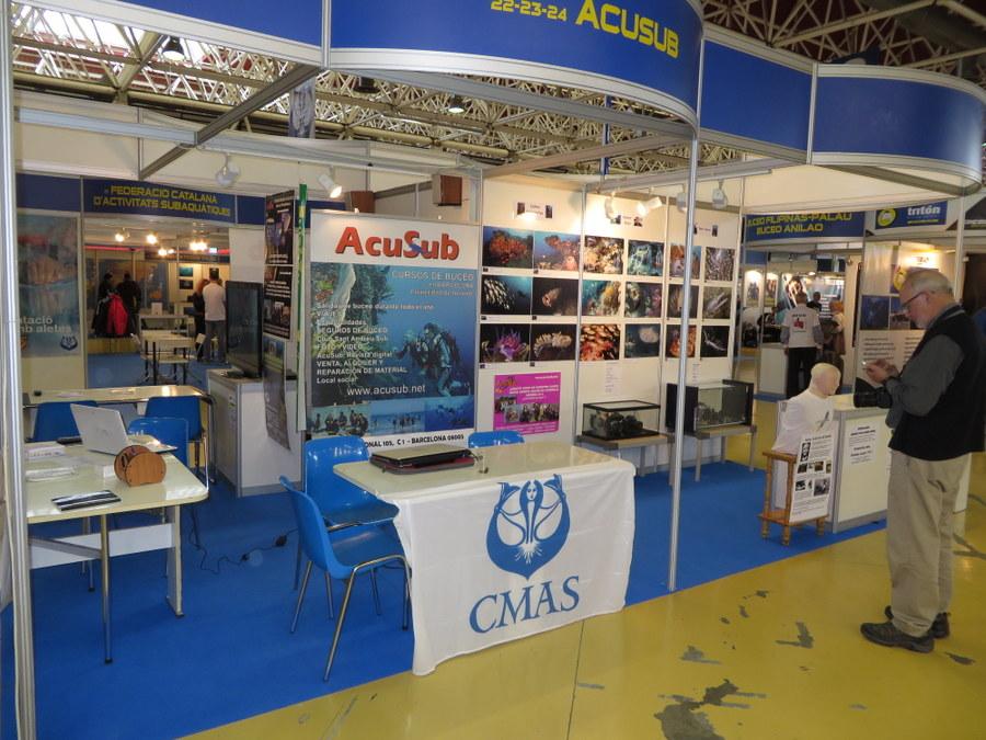 Éxito de Acusub en el Mediterranean Diving 15 Salón de la Inmersión de la Fira de Cornellà