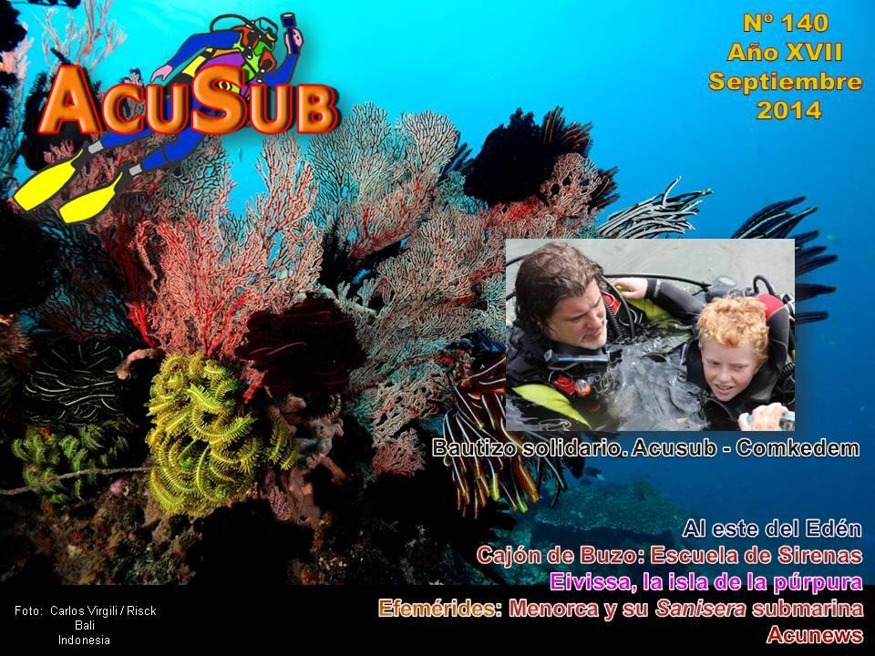 Acusub nº 140 Revista de Buceo