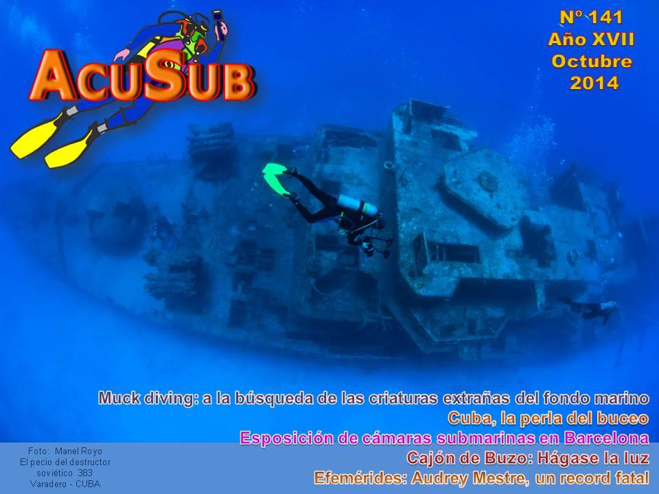 Acusub nº 141 Revista de buceo