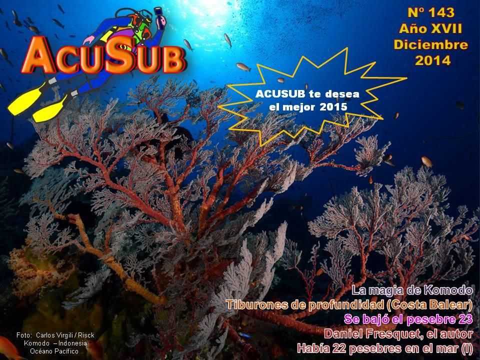 ACUSUB  Revista de buceo nº 143