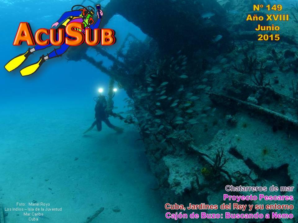ACUSUB Revista de Buceo nº 149.
