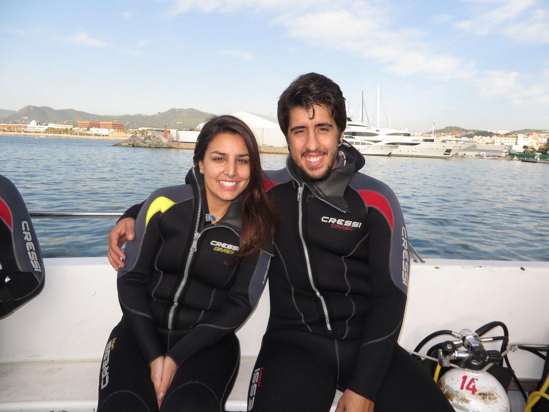 Próxima inmersión:  Mataró-El Clap de les Banyeres. Salida con embarcación
