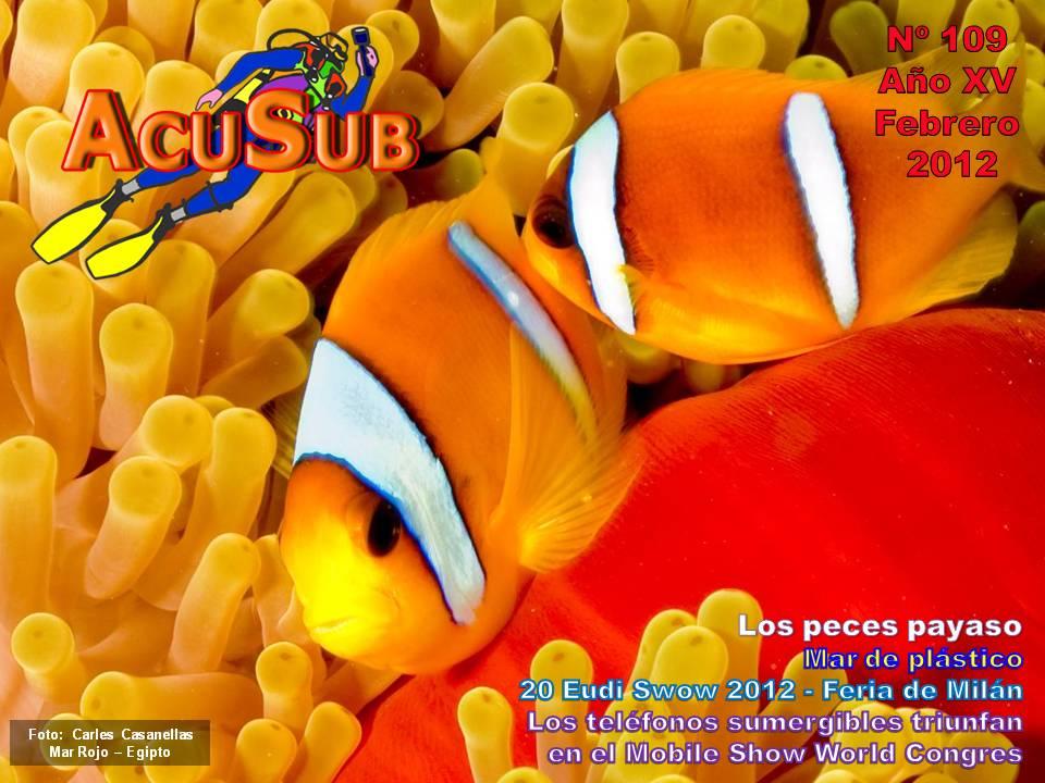 Acusub revista de buceo nº 109