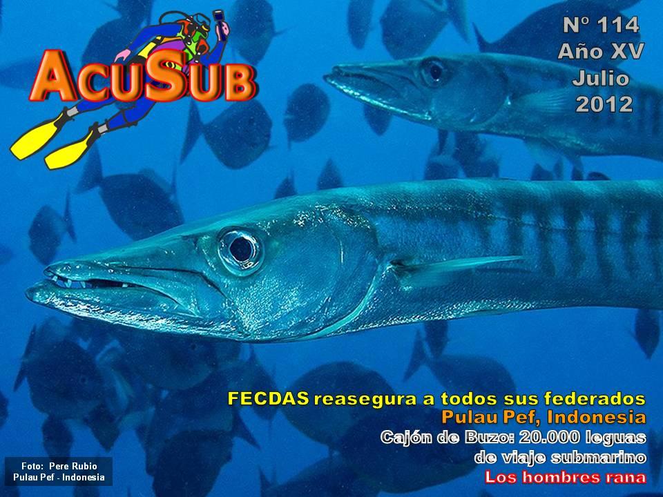 Acusub revista de buceo nº 114