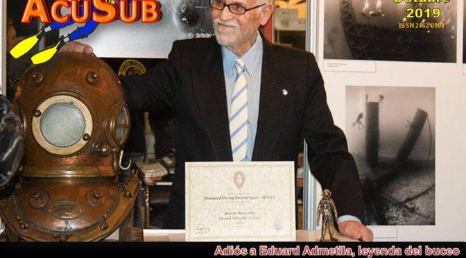 ACUSUB REVISTA 201. Dedicada a Eduard Admetlla E.P.D.